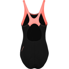 speedo Boom Splice Muscleback Traje de Baño Mujer, black/flash